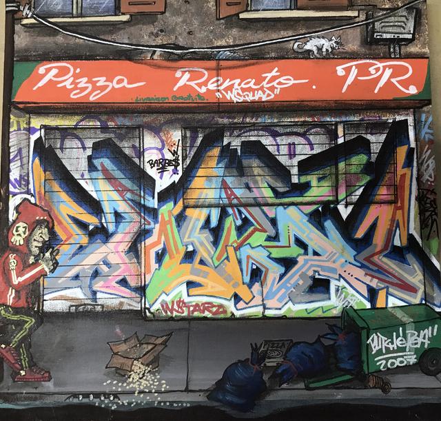 , 'Pizza Renato, Paris, France, August 2007,' 2007, ArtGiverny