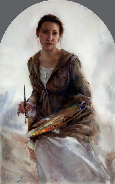 , 'The Artist - Portrait of Katie Whipple,' 2017, Gallery 1261