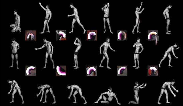 , 'Figure, Swipe,' 2016, Mind Set Art Center