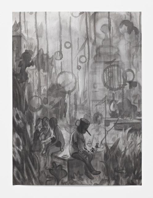 , 'Warm und Dunkel (Warm and Dark),' 2012, Hamish Morrison Galerie