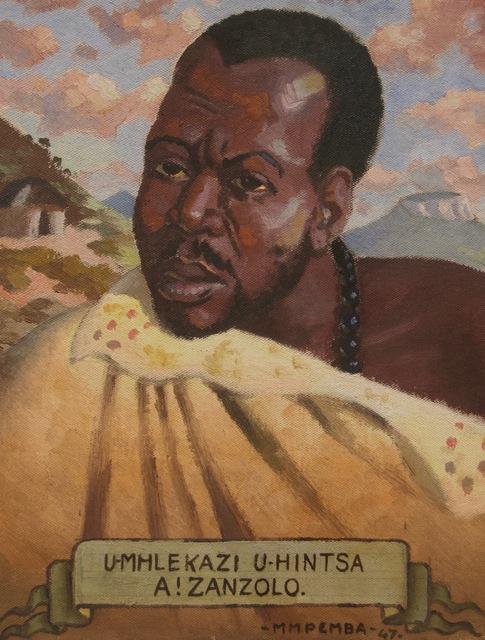 , 'Umhlekazi U-Hintsa A!Zanzolo,' 1947, Gallery MOMO