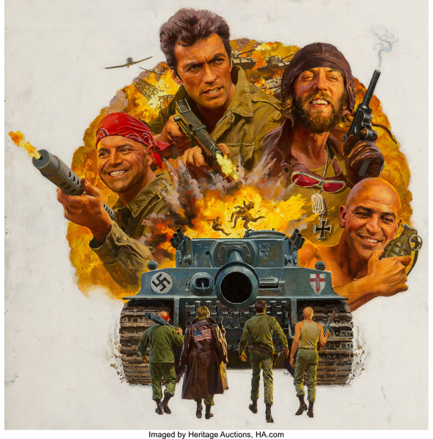 American Artist, 'Kelly's Heroes, movie poster', 1970, Heritage Auctions