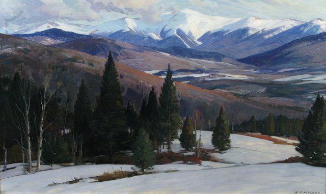 Aldro Thompson Hibbard, 'Mountain Range', 19th -20th Century, Vose Galleries