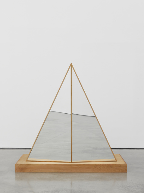 , 'Interactive Abstract Body (Split Triangle),' 2012, White Cube