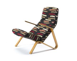 An Eero Saarinen for Knoll Grasshopper lounge chair