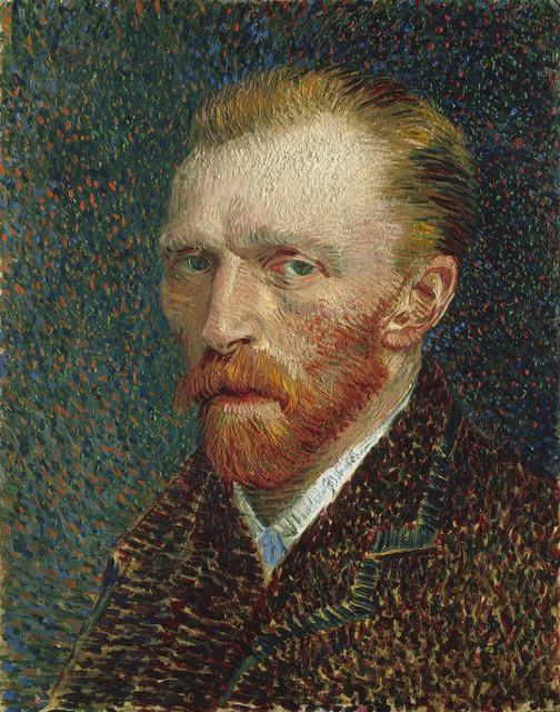 Vincent van Gogh, 'Self-Portrait', 1887, Art Institute of Chicago