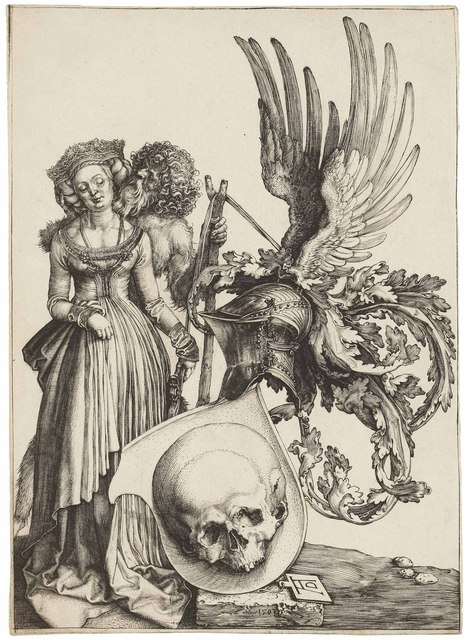 , 'Coat of Arms with a Skull (B. 101; M., Holl. 98; S.M.S. 37),' 1503, Christie's Old Masters