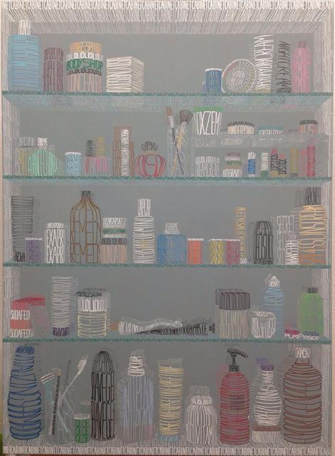 Thomas Broomé, 'Broken Rainbow Cabinet', 2016, Bendana | Pinel