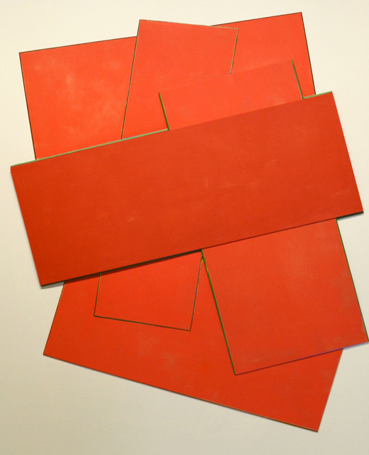 , 'Red Construction,' 2017, The GALLERY/ art placement