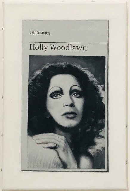 Hugh Mendes, 'Obituary: Holly Woodlawn', 2018, Robert Fontaine Gallery