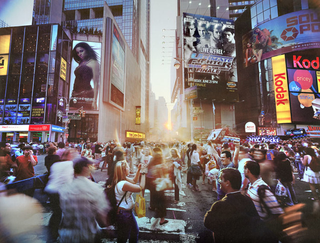 Jerry Spagnoli, 'Times Square Solstice, NY', 2008, Contemporary Works/Vintage Works