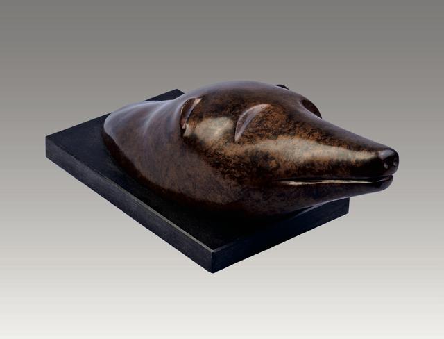 , 'Polar Bear Head,' , Robert Hooke Sculpture Gallery