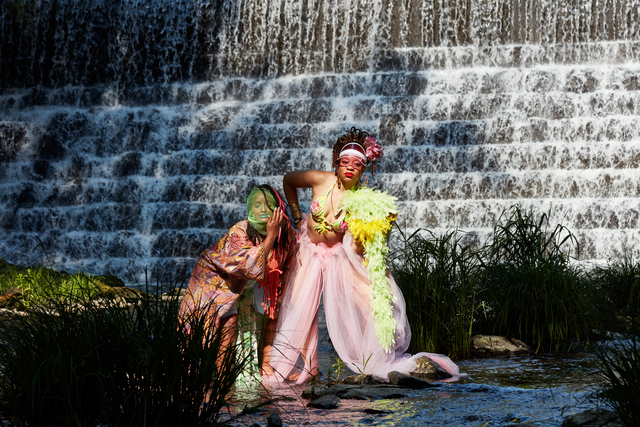 Ayana Evans, 'Tamarack Preserve Waterfall', 2021, Photography, Pigment print on archival cotton rag paper, Standard Space