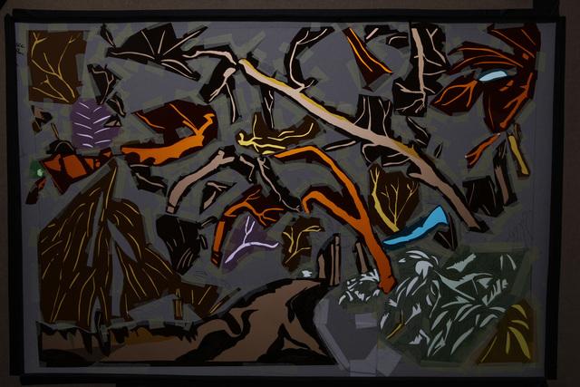 , 'Jungle 2 (pochoir),' 2015, Mannerheim Gallery