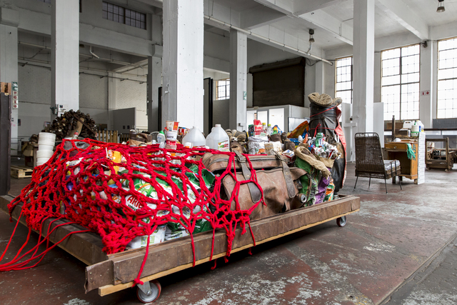 , 'Feeding of the Five Thousand Scheme II,' 2015, Museum of African Design (MOAD)