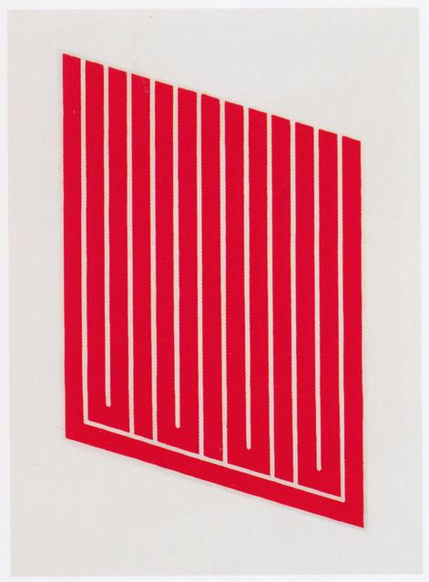 , 'Untitled,' 1961-1969, Upsilon Gallery