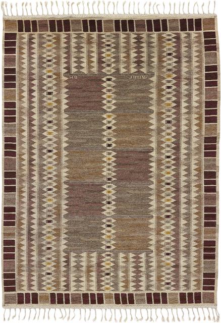 Barbro Nilsson, ''Salerno grå Kristianstad' rug', designed 1948, Phillips
