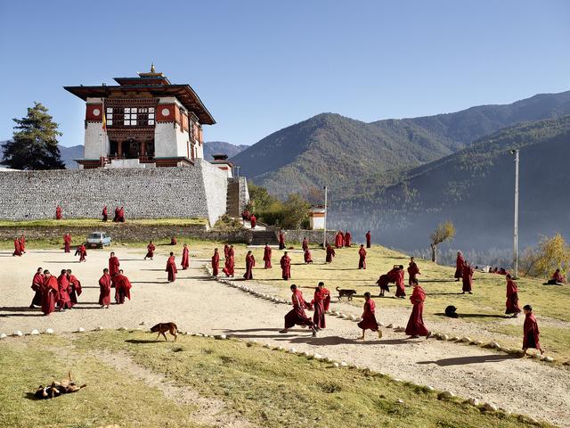 , 'Dechen Phodrang, Thimphu, Bhutan,' 2011, Robert Klein Gallery