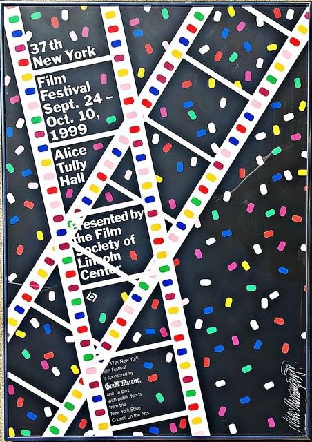 Ivan Chermayeff, 'Lincoln Center Film Festival Poster (Hand Signed)', 1999, Alpha 137 Gallery