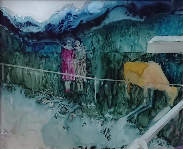 Helena Wyss-Scheffler, 'Mit dem gelben Rind auf der Weide', 2018, Galerie SOON