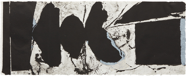 Robert Motherwell, 'Elegy Black Black', 1983, Phillips