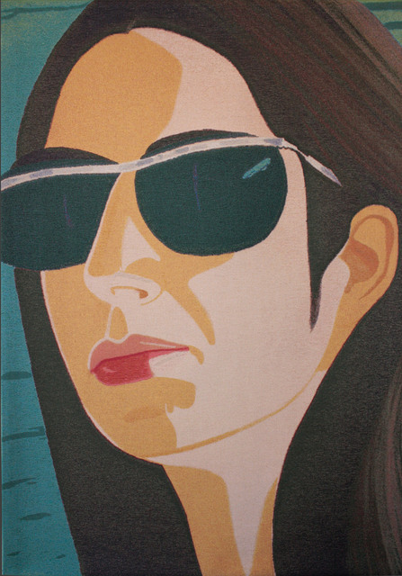 Alex Katz, 'Ada with Sunglasses', 2009, Bluerider ART