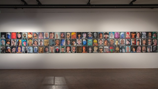, 'Headshots,' 2014, Y Gallery