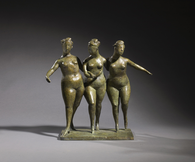 , 'The Three Graces ,' 2012, John Martin Gallery