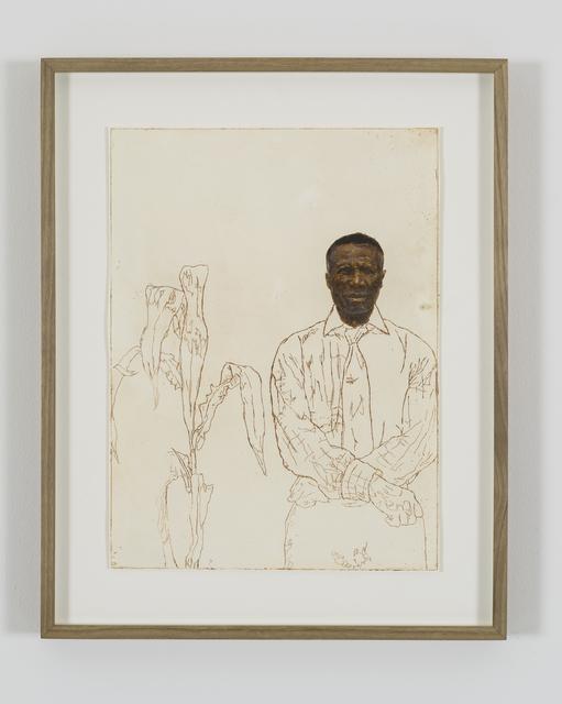, 'Portrait of Sekuru Misheck Cornelius Chikanza,' 2018, Tyburn Gallery