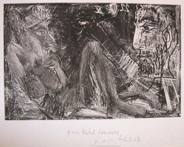 Pablo Picasso, 'Homme et Femme (Man and Woman)', 1968, Wallector