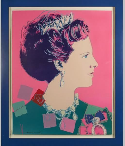 Andy Warhol, 'Queen Margrethe II of Denmark, from Reigning Queens', 1985, Robin Rile Fine Art