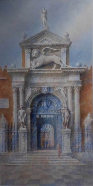 , 'Entrance to the Arsenale, Venice,' , Mall Galleries