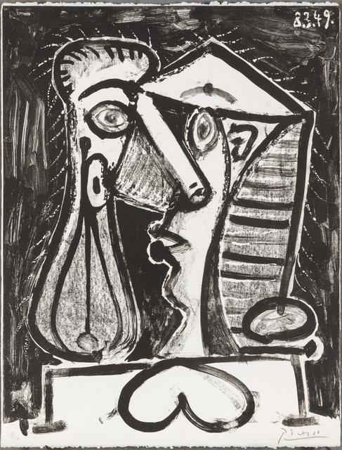 , 'Figure Composée II,' 1949, Christopher-Clark Fine Art
