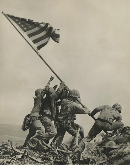 Joe Rosenthal, 'Raising The Flag On Iwo Jima', February 23-1945, Howard Greenberg Gallery