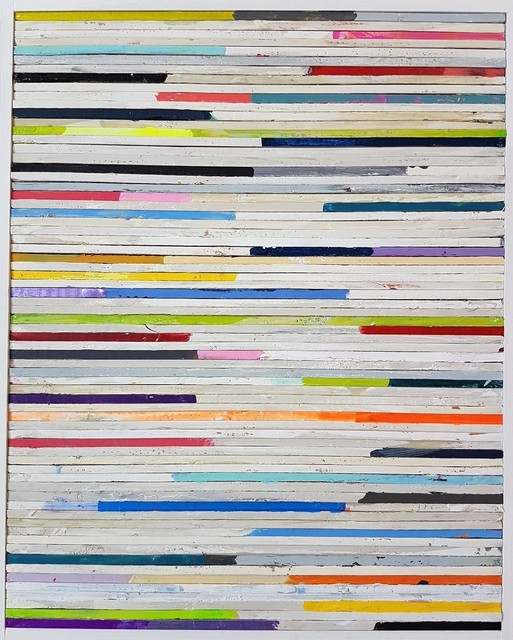 , 'Lathe Painting #9,' 2018, Cerbera Gallery