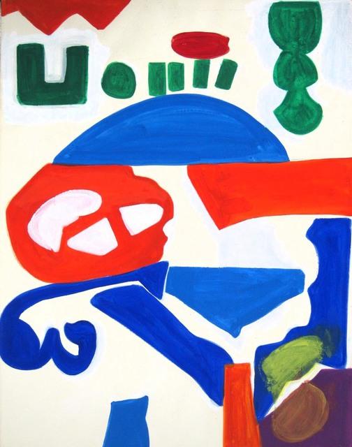 Shirley Jaffe, 'Untitled #50', Tibor de Nagy