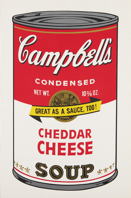 Andy Warhol, 'Cheddar Cheese, from Campbell's Soup II', 1969, Phillips