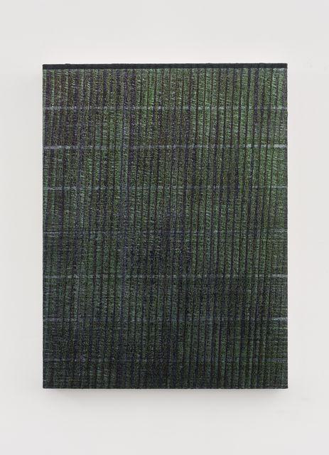 Chi Qun 迟群, '一条线 - 绿紫 One Line - Green and Purple', 2018, Aye Gallery