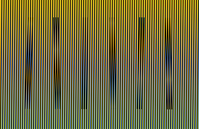 , 'Induction Chromatique Fraven ,' 2014, Puerta Roja