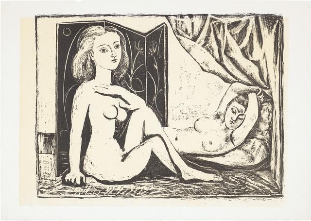 Pablo Picasso, 'Les Deux femmes nues (Two Nude Women)', 1946, Phillips