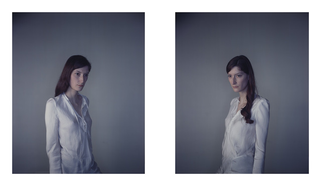 , 'Jasmijn away from Light / Jasmijn to the Light,' 2010, Pace/MacGill Gallery