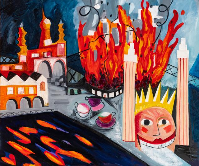 Mark Schaller, 'Luna Park on Fire', 2019, Nanda\Hobbs
