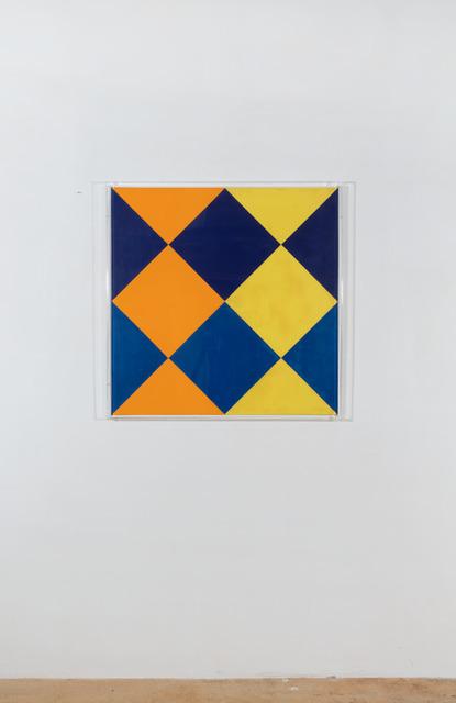 , 'Farbdurchdringung von vierteiligem Zentrum,' , Galerie Knoell, Basel