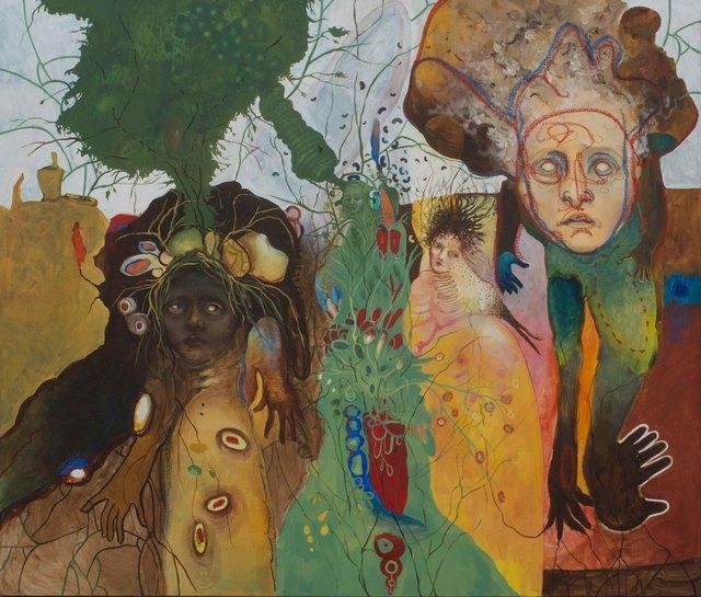 , 'Los árboles como mensajeros,' 2016, Lux Perpetua Art Centre