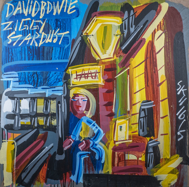, 'David Bowie - Ziggy Stardust,' 2015, Subliminal Projects