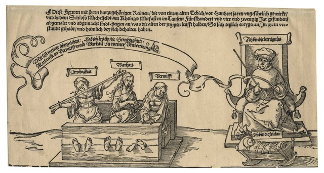 , 'Allegory of Social Injustice (central panel of the so-called Michelfeld Tapestry,' , C. G. Boerner