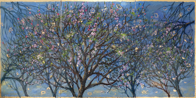 , 'Almond Trees, Twilight in Mallorca,' 2017, Galerie d'Orsay