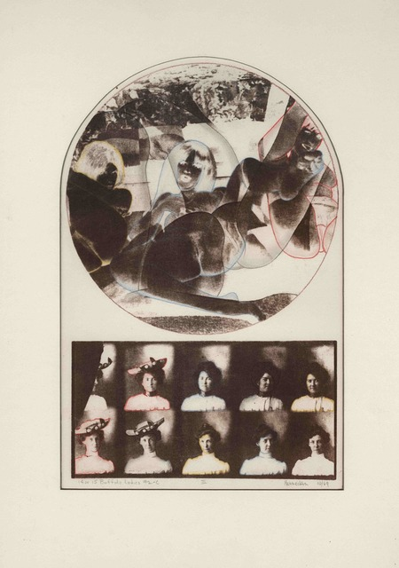 , '14 or 15 Buffalo Ladies #2C,' 1969, Rhona Hoffman Gallery