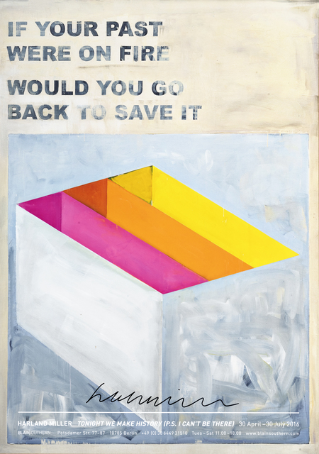 Harland Miller, 'If Your Past Were On Fire Would You Go Back To Save It', 2016, Tate Ward Auctions