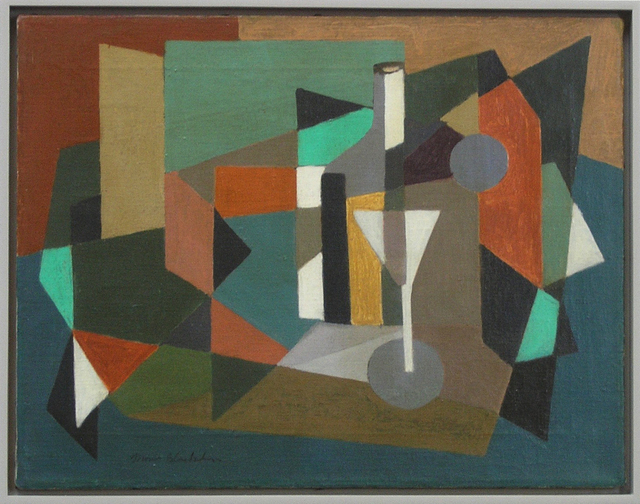 , 'Abstraction with Martini Glass c. 1945,' ca. 1945, Dolan/Maxwell